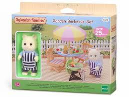 Sylvanian Families Garden - garden barbecue set sylvanian families