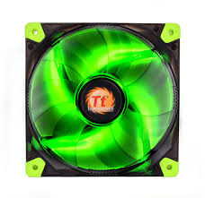 thermaltake global luna 12 led green
