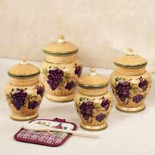 Kitchen Canisters Set Of 4 Anchor Hocking 4 Piece Kitchen Canister Set Reviews Wayfair With