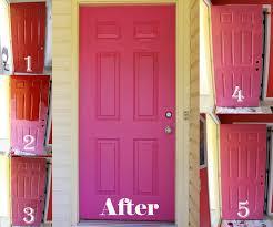 Red Door Paint by Hems And Haws Pink Door