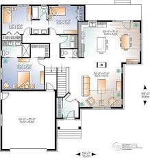 House Plan W3260 V3 Detail From Drummondhouseplans Com Centralized Kitchen Floor Plans