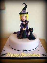 Halloween Cake Topper by Halloween Cake Friendly Witch Toppers Made From Modellin U2026 Flickr