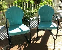 White Metal Patio Chairs Luxury Retro Metal Patio Chairs For Size Of Retro White Metal