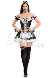 stick figure halloween costumes demi lovato dons a waist cinching corset in maid halloween