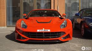 Ferrari F12 Orange - ferrari novitec rosso f12 n largo 3 july 2017 autogespot