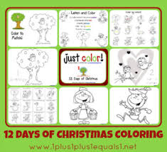 free christmas coloring pages kids u0026 adults 1 1 1 u003d1