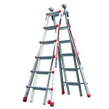 home depot black friday 5 foot ladder sale werner 22 ft aluminum telescoping multi position ladder with 300