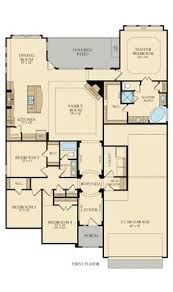 His And Her Bathroom Floor Plans Thomas Creek House Plan House Islands And Design