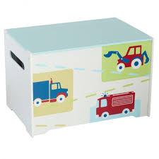 aufbewahrungsbox kinderzimmer spielzeugbox mit griff aus holz fahrzeug feuerwehr kiste box