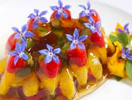 edible flower garnish pimms jelly maddocks farm organics