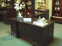 Realspace Magellan Collection L Shaped Desk Cherry Color Home Office L Shaped Desk By Coaster Furniture Youtube
