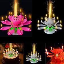 spinning birthday candle lotus birthday candle ebay