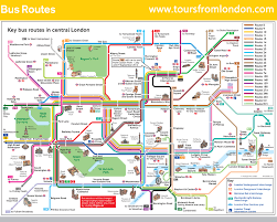 Bus Map Los Angeles by Bus Map Toursfromlondon