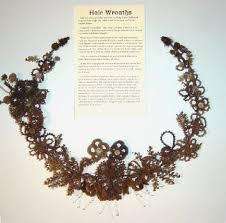 hair wreath hair wreaths to be shown at caro library watrousville