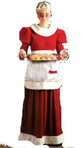 mrs claus costumes mrs claus costumes and accessories deluxe theatrical