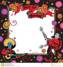 day of the dead party invitation stock photos image 21540323