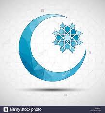 vector illustration of eid mubarak greeting card design with
