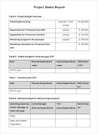 Project Daily Status Report Template Excel Testing Status Report Template