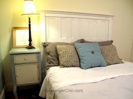 headboard made from salvaged shutters scavenger chic