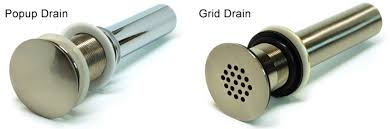 how to open sink drain 3 most common bathroom sink stopper types storecrown within ideas 25
