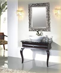 White Bathroom Vanity Mirror Bathroom Design And Decoration Using Oval White Bathroom Vessel