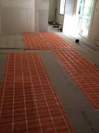 heated tile floor thermostat with raychem floor heating kit 50