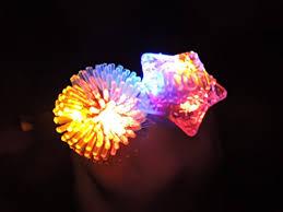 led light up rings gxilee light up toys blinking led light jelly soft rings for party