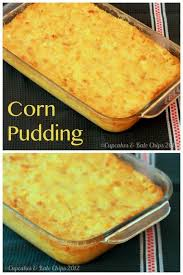 andouille pudding recipe puddings