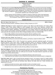 Banking Job Resume by Provide A Professional Resume Writing Service Writing Cover