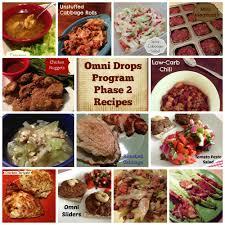 omni drops program phase 2 recipes omnitrition omnidrops omni