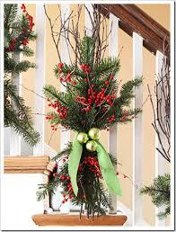 Christmas Banister Garland Christmas Staircase Honey We U0027re Home