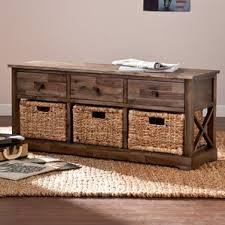 Wood Bench With Storage Wooden Storage Benches You U0027ll Love Wayfair