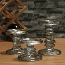 bougeoir mariage cristal bougeoir en verre décoratif de mariage bougies bougeoir de