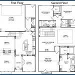 floor plan two storey residential house floor plan 5629 house