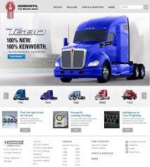 kenworth trucks near me kenworth launches impressive new website features the world u0027s