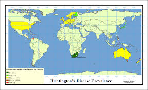 Population Density Map United States by Population Genetics And Huntington U0027s Disease Hopes Huntington U0027s