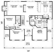 3 Bedroom Open Floor House Plans One Story House Plans 1500 Square Feet 2 Bedroom Square Feet