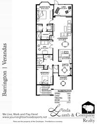 Company Floor Plan by Barrington Veranda Floor Plan Heritage Palms Linda Lamb