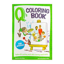 amazon com q u0027s coloring and activity book social skills manners