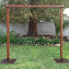 wedding arch rental rent wood wedding arch just 4 party rentals santa barbara