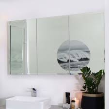 osca bevelled edge mirrored cabinet 1200mm highgrove bathrooms