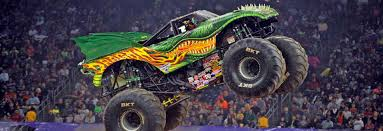 monster trucks jam games monster jam visited four stadiums that hosted nfl games in 2015