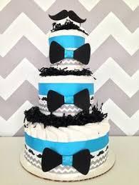 más de 25 ideas increíbles sobre mustache diaper cake en pinterest