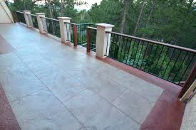 stamped concrete pool decks are a very popular option pool deck
