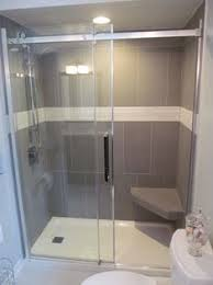 Shower Door Removal From Bathtub 3 8 Inline Glass Shower Door And Panel Frameless With Cls