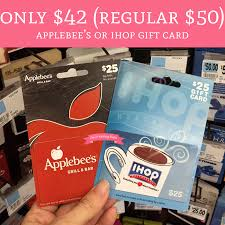 ihop gift cards only 42 regular 50 applebee s or ihop gift card rite aid