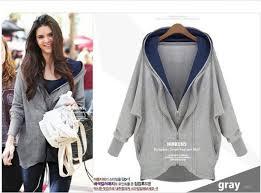 coat grey hoodie coat zip double zipper women long sleeves
