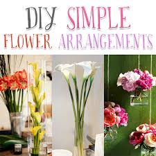 Diy Flower Arrangements Diy Simple Flower Arrangements The Cottage Market