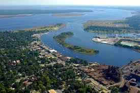 georgetown harbor in georgetown sc united states harbor