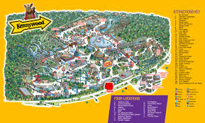 Map Guest Park Map Kennywood Amusement Park